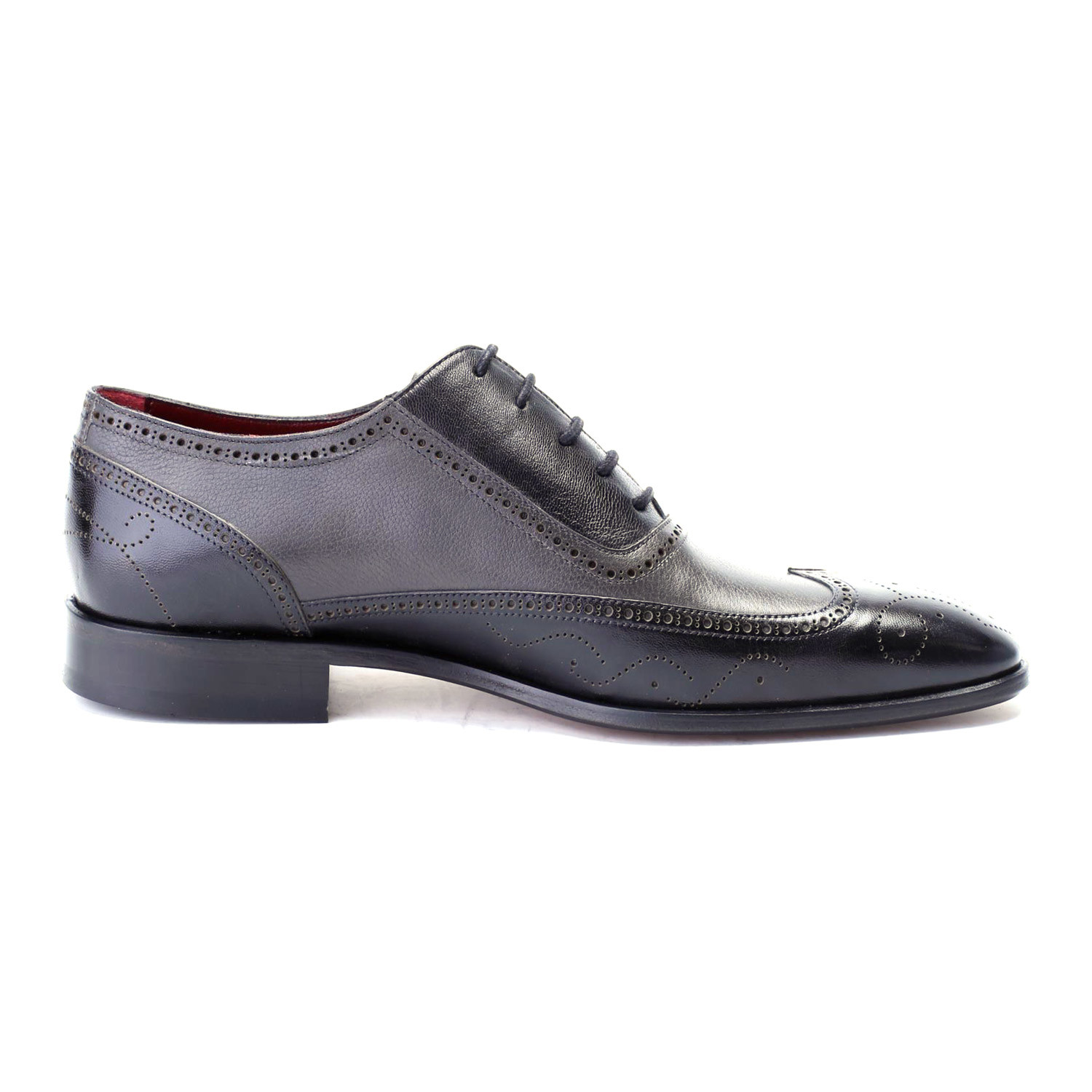 Two-Toned Dress Shoe // Black, Grey (Euro: 39) - Deckard ...