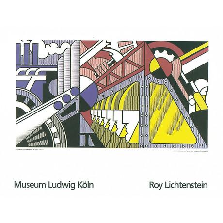 Roy Lichtenstein // Study For Preparedness // 1989 Serigraph