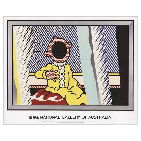 Reflections on the Scream // Roy Lichtenstein // 2013 Offset Lithograph