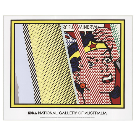 Reflections on Minerva // Roy Lichtenstein // 2013 Offset Lithograph