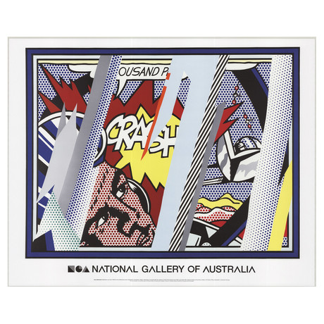 Reflections on Crash // Roy Lichtenstein // 2013 Offset Lithograph
