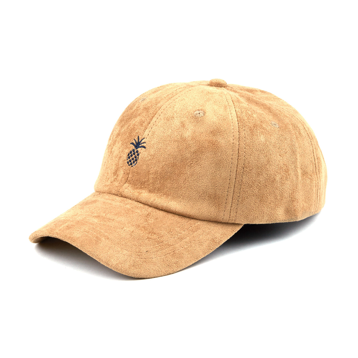 A6bb678baf47073f75b261f81979a3e8 medium · Pineapple Suede Dad Hat    Camel f1594130d8d
