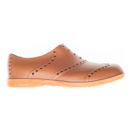Brights Oxford // Brown + Bright Orange (US: 7)