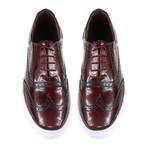 Caballero // Vino Wingtip Sneaker // Violet (US: 7)