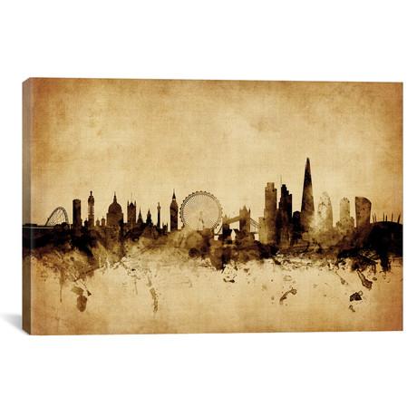 "London, England, United Kingdom I // Michael Tompsett (40""W x 26""H x 1.5""D)"