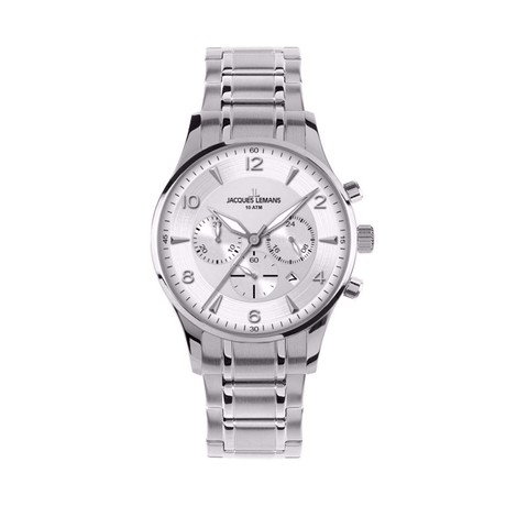 Jacques Lemans London Chronograph Quartz // 1654J