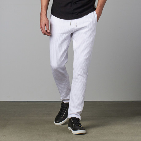 Max Knit Pant // White