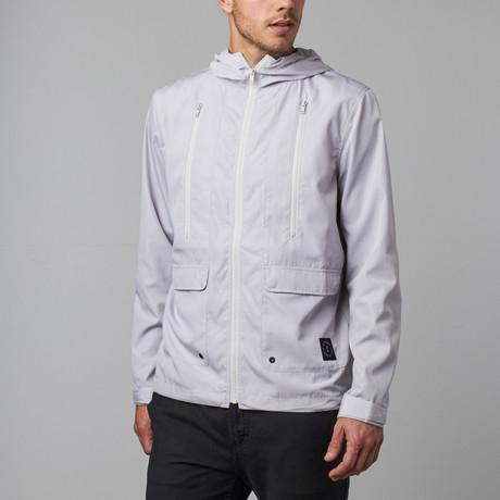 Carlton Lightweight Jacket // Light Grey