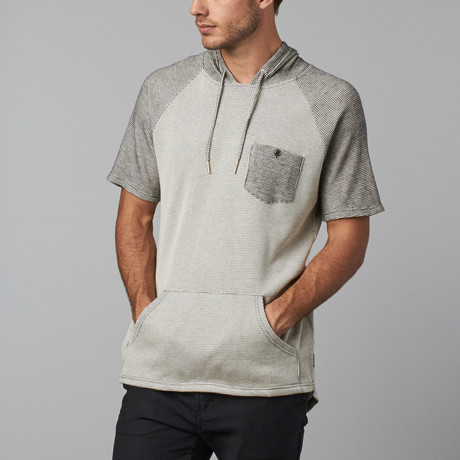 Rohan Short-Sleeve Hooded Pullover // Charcoal