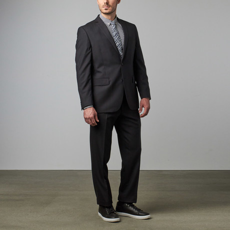 Wool Suit // Charcoal Houndstooth