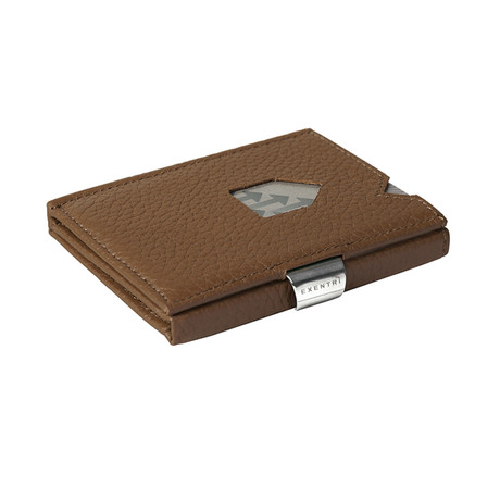 Leather Wallet // Brown Structure