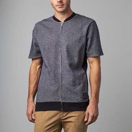 Jensen Sweater Tee // Navy