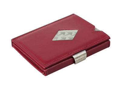 Photo of Exentri Minimalist RFID-Blocking Wallets Leather Wallet // Red by Touch Of Modern