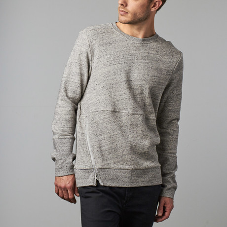 Maddox Sweatshirt // Heather Grey