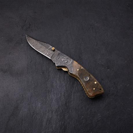 Sheep Horn Pocket Knife