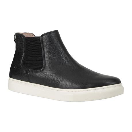 Brookside Sneaker Boot // Black + White