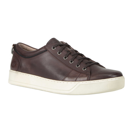 Darwood Lace-Up Sneaker // Oxblood + White