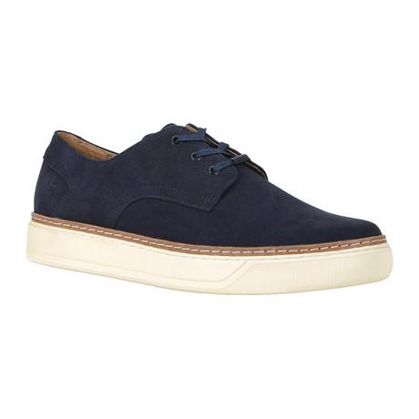 Edson Oxford Sneaker // Navy + Bone