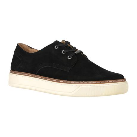 Edson Oxford Sneaker // Black + Bone