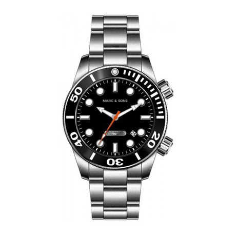Marc + Sons Diver Automatic // MSD-020-US