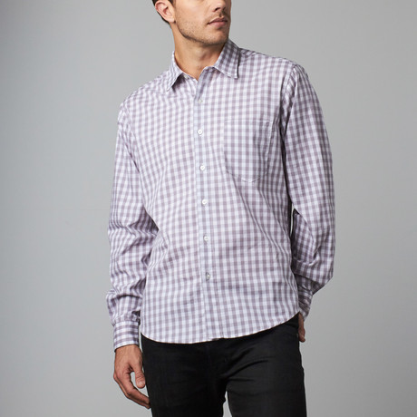 Howard Gingham Button-Up // Black (S)