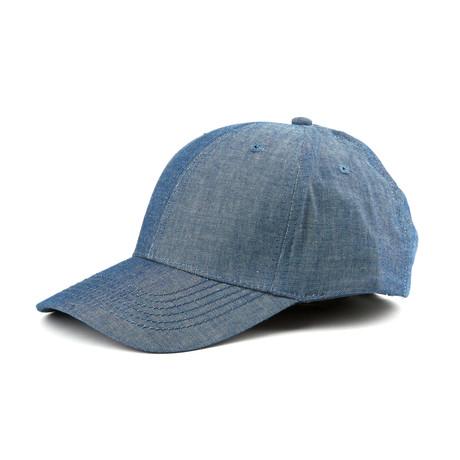 Chambray Ball Cap // Navy