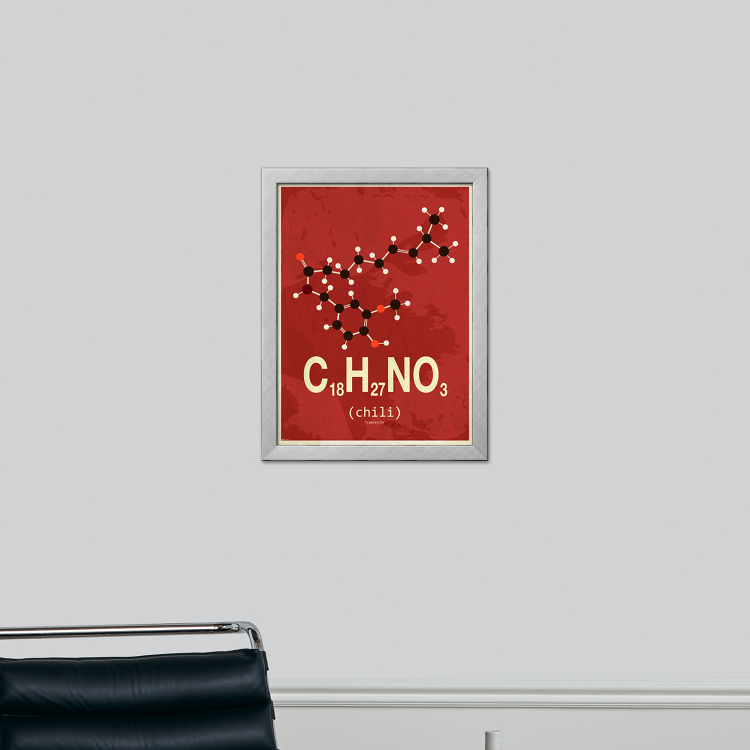 Molecule chili natural wood frame last grab home for Home decor sales online