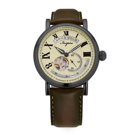 Aries Gold Gauntlet Vintage Automatic // G 903 TS-BEI