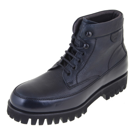 Treaded Work Boot // Navy