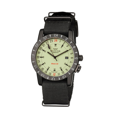 Glycine Airman Base 22 Purist Automatic // 3887.95SL-66.TB99