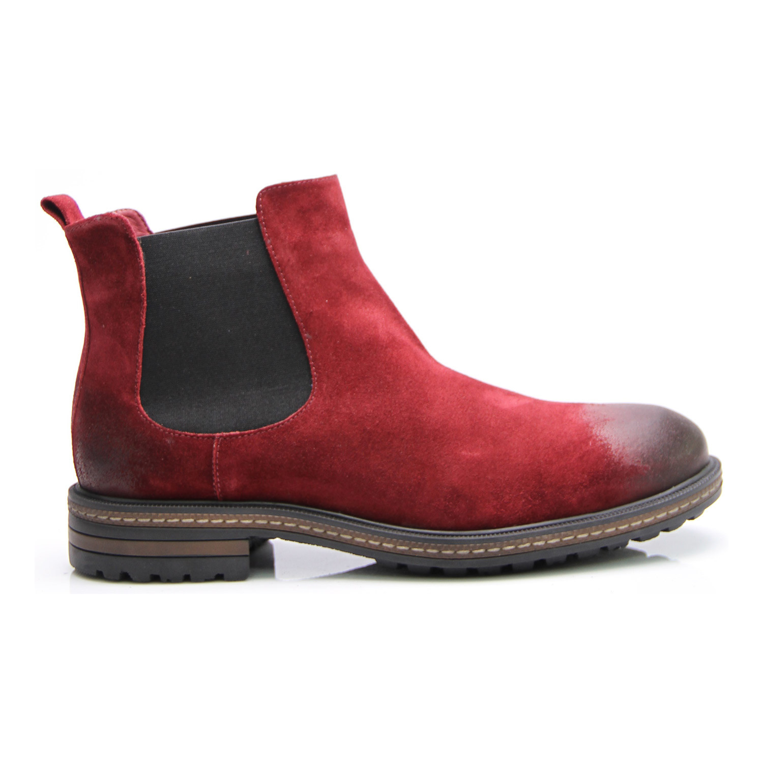 suede chelsea boot bordeaux euro 40 e goisto. Black Bedroom Furniture Sets. Home Design Ideas