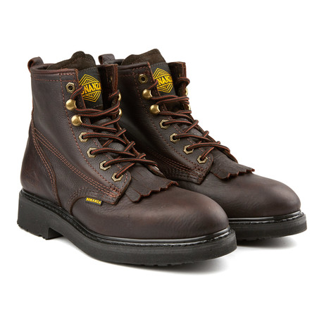 6'' Kiltie Boots // Brown (US: 6)