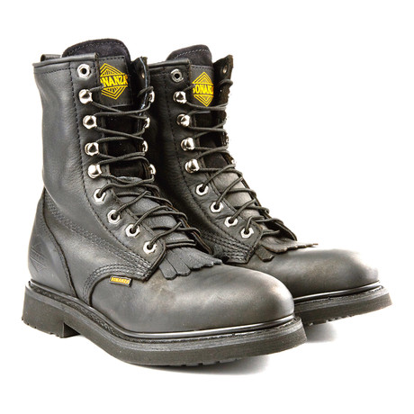 8'' Kiltie Boot // Black (US: 6)