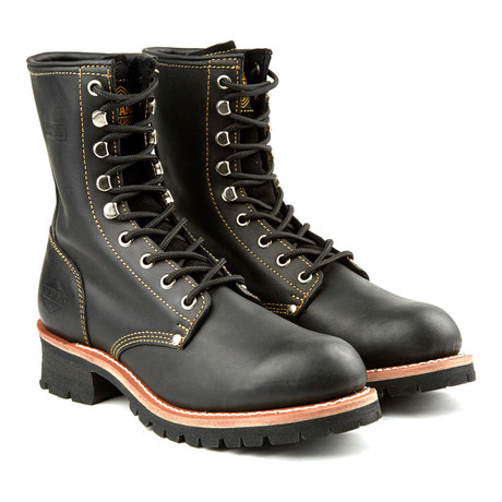 9'' Rebel Rough Round Logger Boot // Black (US: 6)