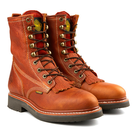 8'' Kiltie Boot // Light Brown (US: 6)