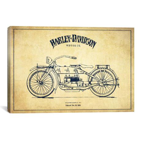 "Harley-Davidson I (18""W x 26""H x 0.75""D)"