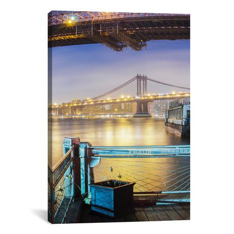 """Brooklyn Bridge Pano #2, Part 3 of 3 (18""""W x 18""""H x 0.75""""D)"""