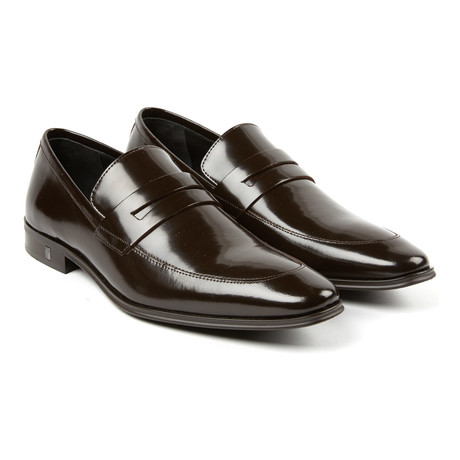 Sleek Pennyloafer // Brown (Euro: 39)