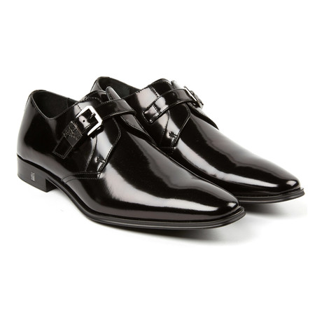 Sleek Monkstrap Derby // Black (Euro: 39)
