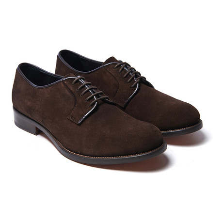 Plain Derby // Dark Brown