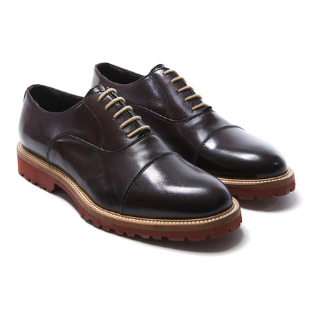 Cap-Toe Oxford // Dark Brown