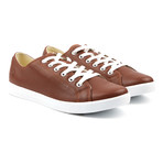 Ox Light Low-Top Sneakers // Brown (Euro: 43)