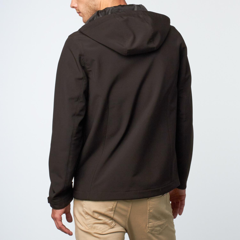 Soft shell hoodie