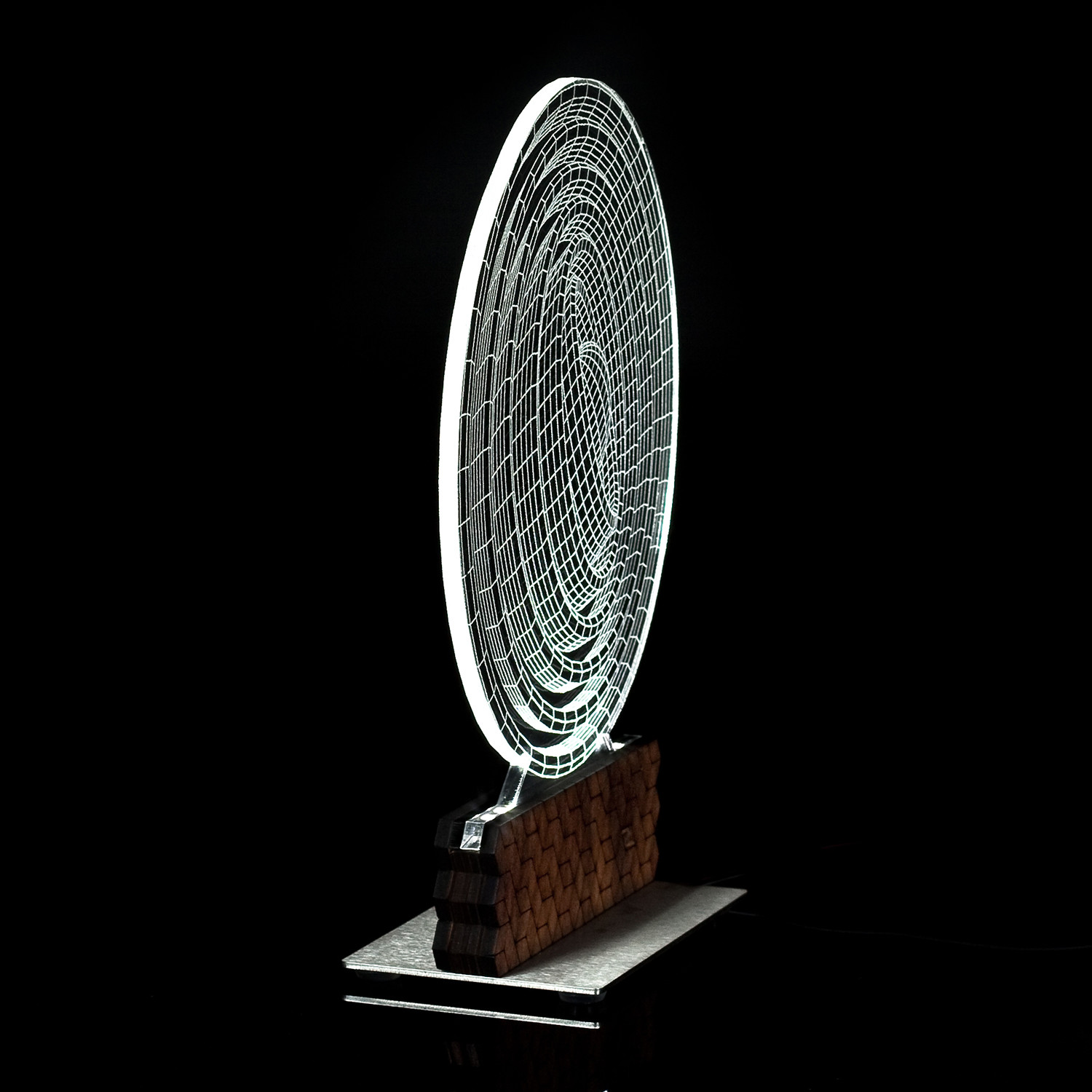 3D Illusion Lamp // Ecliss