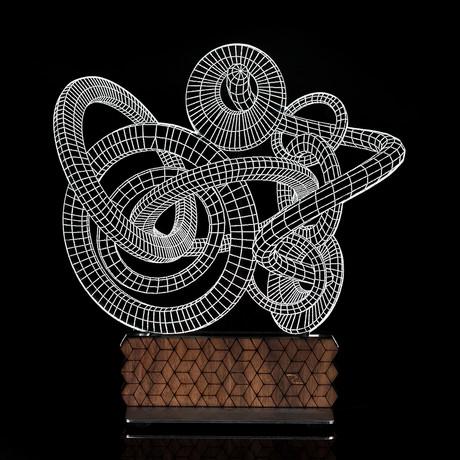 3D Illusion Lamp // Orbis Generation 2