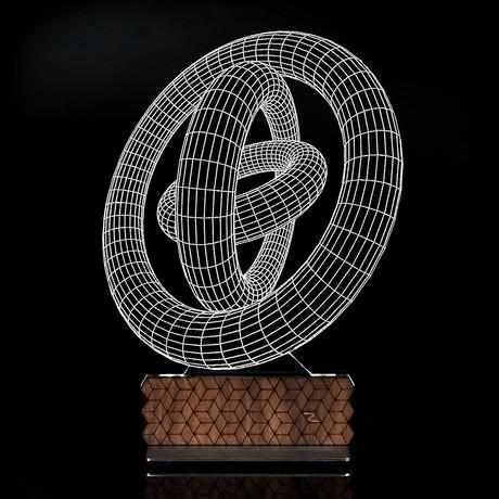 3D Illusion Lamp // Circles Generation 2