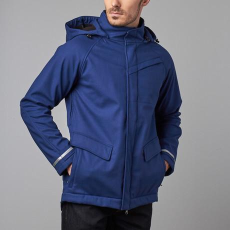 One Man Commuter Rain Jacket // Indigo (S)