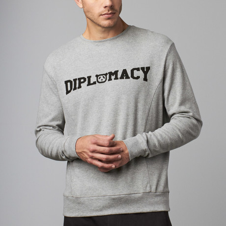 Slouchy Pullover // Grey