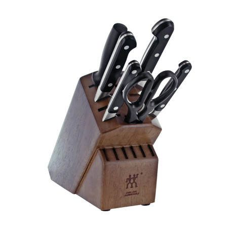 Zwilling Pro // 7-pc Knife Block Set