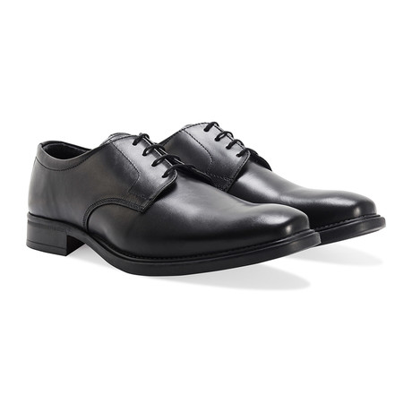 Shoeprimo Gibson Shoe // Rubber Sole // Black (UK 7)